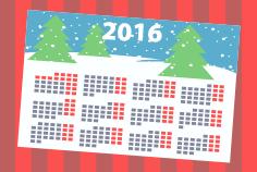 Печать календарей в СПб — открыток